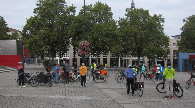 Zulaufroute von Dortmund nach Witten, Start am Hansaplatz
