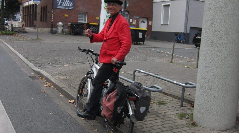 Der Zählmeister der Fahrradsternfahrt