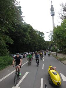 Hauptroute in Dortmund